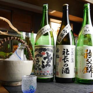 ◇厳選◇埼玉の地酒を中心とした日本酒を取り揃え