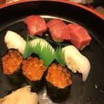 海鮮問屋 吾作どん - お寿司だってプリっとしてる♡