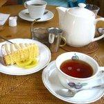 cafe & galerie NAJA  - レモンのポレンタ