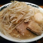 のスたOSAKA - 【賄い醤油 + 味玉】¥750 + ¥100