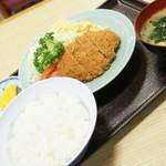 動坂食堂 - 料理写真:メンチカツ(700円)2017年12月