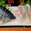 吾作 - 料理写真:刺身(しめ鯖、釣り平目)