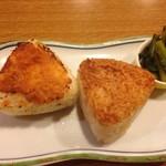 むさしや料理店 - 料理写真:焼きおにぎり