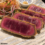 あ吽 - 料理写真:米沢牛のビフカツ