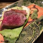 あ吽 - 米沢牛のステーキ