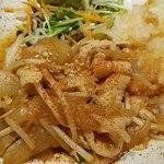 ぽん輔 - 豚バラ生姜焼き定食