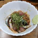 すき焼・鍋物 なべや - 胡麻サバ