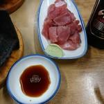 すき焼・鍋物 なべや - マグロのすきみ