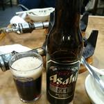 すき焼・鍋物 なべや - 黒ビール