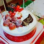 ル・マタン  - 特賞のクリスマスケーキ!