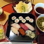 八千代本店 - 昼膳「にぎり」1,200円