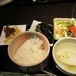 Matsunagabokujou - ランチセットは豪華~