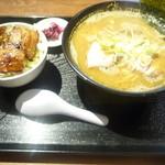 78556674 - 中華そば+焼豚飯(小)
