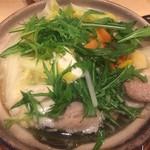 晴 - 鶏の水炊き鍋