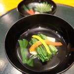 食彩 かどた - 雲子豆腐の椀