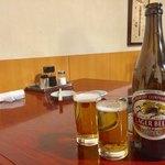 焼肉 静龍苑 - 瓶ビール 550円