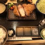 78558985 - 新潟雪室熟成豚リブロースかつ定食150g