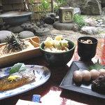 めん割烹なか川 - 料理写真:なか川四代目オススメ 「天ぬき御膳」  数々のマスコミに登場する1番人気商品