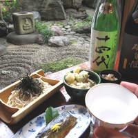 めん割烹なか川 - 天ぬきに日本酒・・・〆に蕎麦。。。これが「粋」な蕎麦屋の文化(食べ方)です