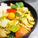 野菜を食べるカレーcamp - 一日分の野菜カレー(D.ベジタリアン)