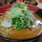 西海 - 料理写真:店舗限定メニューの火鍋ラーメン788円