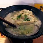 炊き餃子と鶏すき大衆酒場 仕事鶏A - 炊き餃子