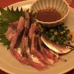 魚 枡 - さんま刺身