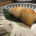 サケダイニング フジ - 銀鱈の酒粕漬け焼き、たまりましぇん!( ̄▽ ̄)
