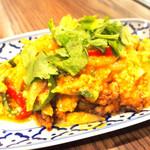 ソフトシェルのカレー味炒め(プーニムポンカリー)
