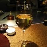 鉄板焼 すみだ - 白ワイン
