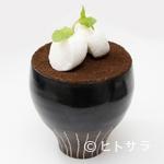 カフェ アンノン - オーガニックコーヒーとクレミアソフトクリームを使用した香り高い『コーヒーゼリー』