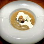 AU GAMIN DE TOKIO - ふぐ白子のグリルとポルチーニ茸のカプチーノ仕立て