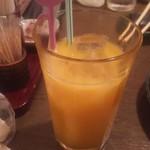 だんまや水産 - オレンジジュース(2017.12.14)
