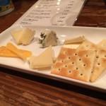 bevi - チーズ盛合せ