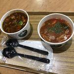 北海道スープスタンド - 赤ワイン煮とミネストローネ