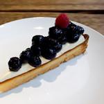 珈琲物語 - 料理写真:ブルーベリータルト