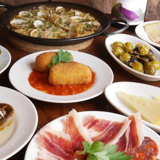 メディアで話題◇現地スペインの味を完全再現した本物志向の料理