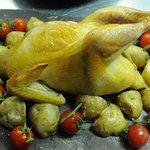 レストラン Tera - シャモロック丸ごとハーブオーブン焼き