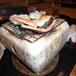 湯喜望 白扇 - 焼き蟹