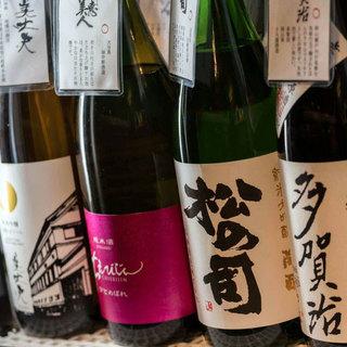 《日本酒通も満足》常時100種以上の豊富なラインナップ!