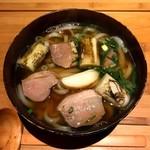 はなれ 中村製麺 - 料理写真:京鴨南蛮おうどん