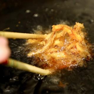 そば粉から天ぷらまで<素材にこだわり>