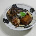 金目鯛かぶと煮