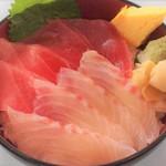 築地 海鮮丼 大江戸 - 料理写真: