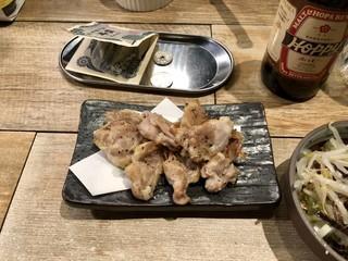 立呑屋 佐々木 - 鶏ハラミ焼き 300円