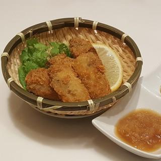 宮城産の食材を使って調理します