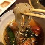 牛すけ - 冷麺の独特の麺すきです
