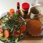 ぼんじゅーる - 料理写真:サラダ風ミートスパゲティー907円