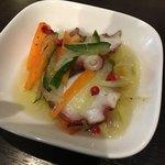 F.c Agio - 選べる前菜:蛸のマリネ