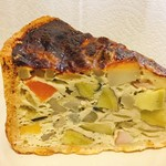 ティーカシェット - お野菜たっぷりキッシュ